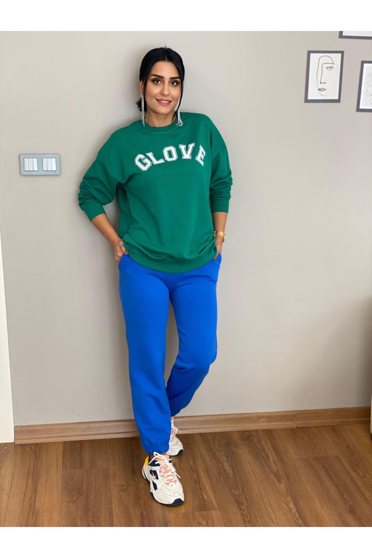 GLOVE YAZILI SWEATH